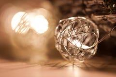 LED dans la cage Photo libre de droits