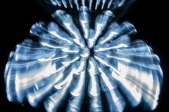 LED dans le réflecteur Image stock