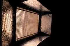 LED de iluminación video Foto de archivo libre de regalías