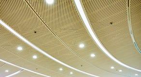 LED-Deckenbeleuchtung Stockfotos