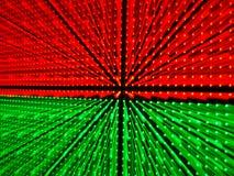 LED in der Platte durch Zoomobjektivtechnik Lizenzfreie Stockfotos