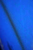 LED diagonall screen. Blue background Royalty Free Stock Images