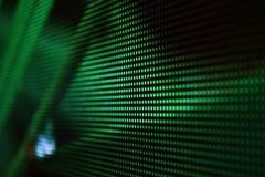 LED diagonall screen dark green. Background royalty free stock photos