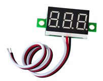 LED digital display Stock Photography