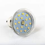 Led diode light bulb on white Royalty Free Stock Images