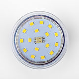Led diode light bulb on white Stock Photography