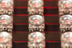 LED diodes Royalty Free Stock Photos