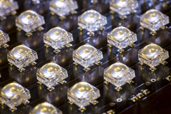LED diodes Stock Photo