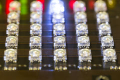 LED diodes Royalty Free Stock Images
