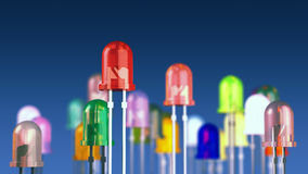 LED diodes Royalty Free Stock Image