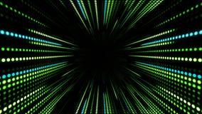 LED diodes panel elements, garland background vector illustration