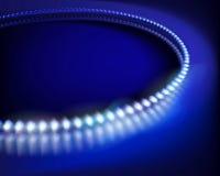 The led diodes. Vector illustration. Blue led diodes. Vector illustration Royalty Free Stock Images