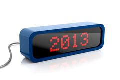 Led display of 2013 year Royalty Free Stock Image