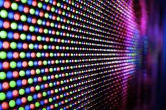 LED Display Royalty Free Stock Photo