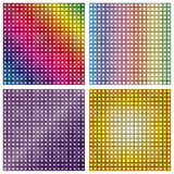 LED display screen background texture Royalty Free Stock Photography