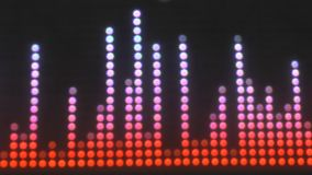 LED display stock footage