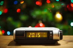 Led display of 2015 new year Stock Photo