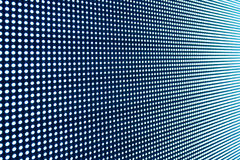 LED display screen background texture Stock Image