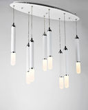 Led  droplight. Fashionable and elegant LED  pendant lighting Royalty Free Stock Photos