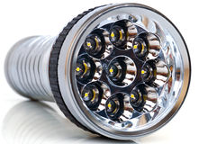 LED electric torch Stock Image