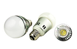 LED energy saving bulb, Light-emitting diode Stock Image