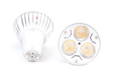 LED energy saving bulbs. Stock Photography