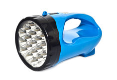 Led flashlight stock photo