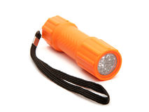 LED Flashlight. Stock Photo