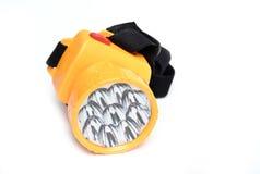 Led flashlight isolated Stock Photo
