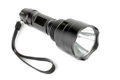 LED flashlight isolated on white background Stock Photography