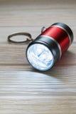 LED Flashlight Keychain. Royalty Free Stock Images