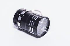 LED flashlight. Stock Photo