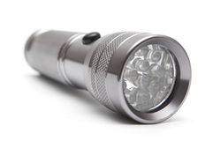 Led flashlight Stock Image