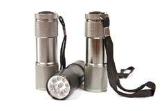 LED flashlights Stock Images