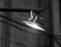 LED flood light, indoor lamp Royalty Free Stock Photo