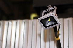 LED flood light, indoor lamp Royalty Free Stock Images