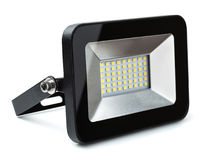 LED flood light Stock Image