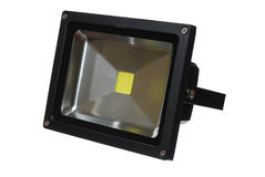 Led floodlight Stock Photo