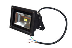 Led floodlight Stock Image