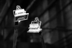 LED-Flutlicht, Innenlampe Lizenzfreie Stockbilder