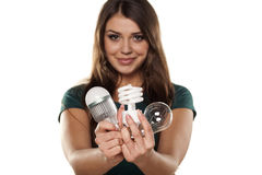 LED is the future Royalty Free Stock Photos
