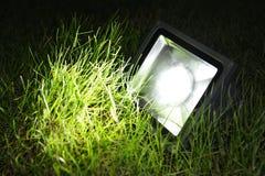 Led garden lamp Stock Images