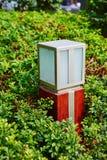 Led garden lighting Royalty Free Stock Images