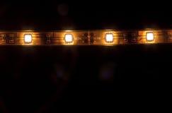 LED garland Stock Photography