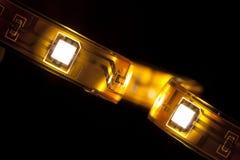 LED garland Royalty Free Stock Images