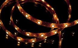 LED garland Stock Photo