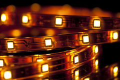 LED garland Stock Photography