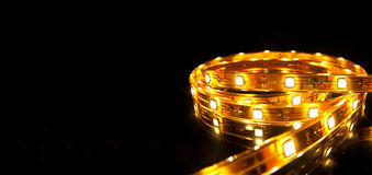 LED garland Royalty Free Stock Images
