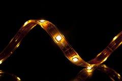 LED garland Stock Image