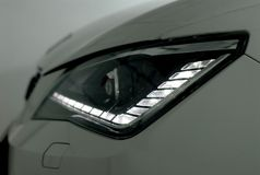 LED headlamps Stock Photos